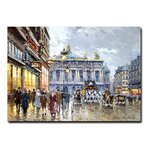 Парижская опера (Avenue de l'Opera). Антуан Бланшар (Antoine Blanchard)