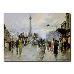 Площадь Бастилии (Place de la Bastille). Антуан Бланшар (Antoine Blanchard)
