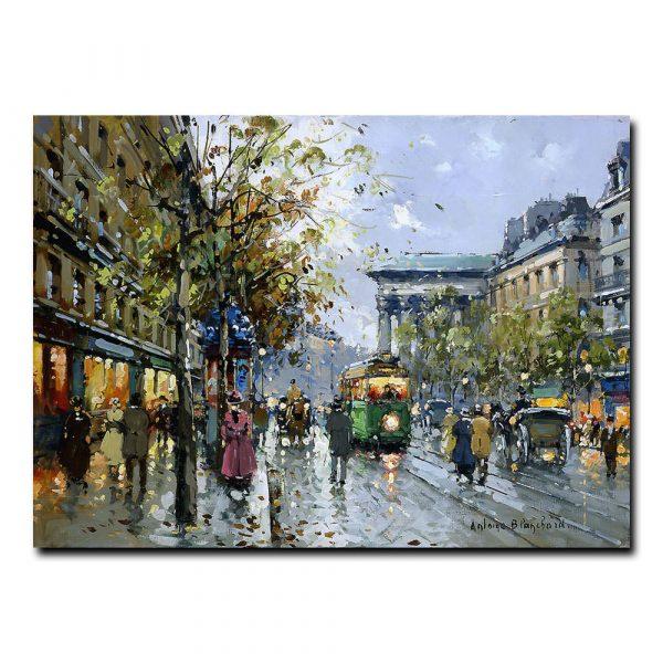 Бульвар Мадлен (Boulevard de la Madeleine).Антуан Бланшар (Antoine Blanchard)