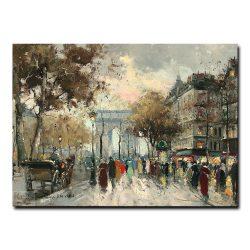Триумфальная арка Елисейские Поля. Антуан Бланшар (Antoine Blanchard)