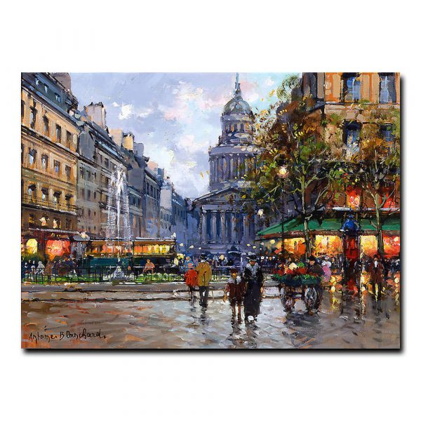 Пантеон (The Pantheon). Антуан Бланшар (Antoine Blanchard)