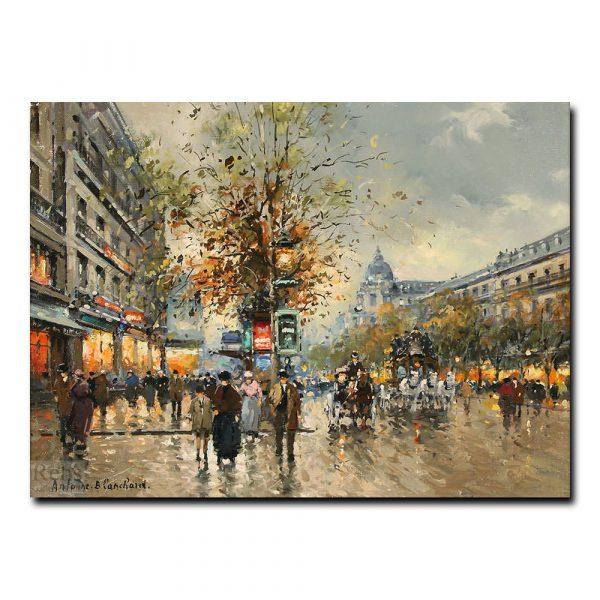 Большие бульвары (Les Grands Boulevards). Антуан Бланшар (Antoine Blanchard)