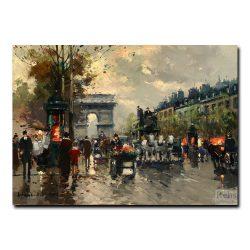 Триумфальная арка с Елисейских Полей. Антуан Бланшар (Antoine Blanchard)