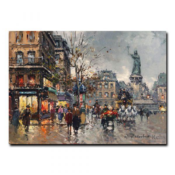 Площадь Виктоир (Place de la Victoire). Антуан Бланшар (Antoine Blanchard)