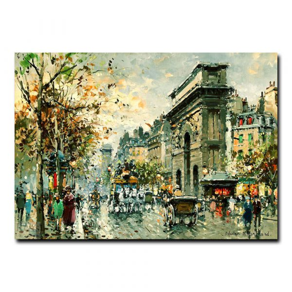 Площадь Тертр (Place de Tertre Paris). Антуан Бланшар (Antoine Blanchard)