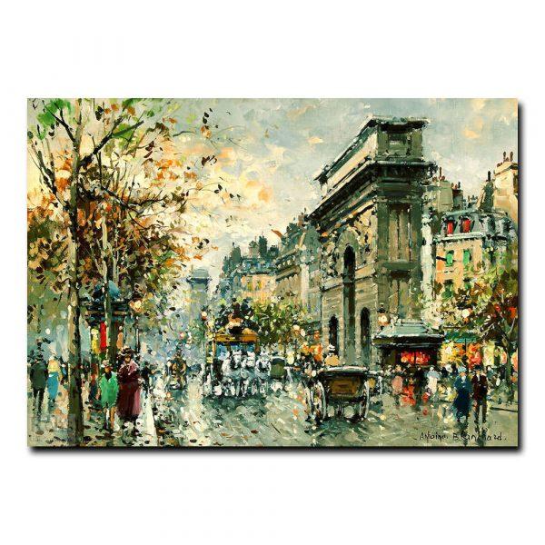 Площадь Тертр (Place de Tertre Paris). Антуан Бланшар (Antoine Blanchard)