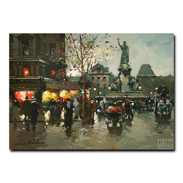Площадь Республики (Place de la Republique). Антуан Бланшар (Antoine Blanchard)