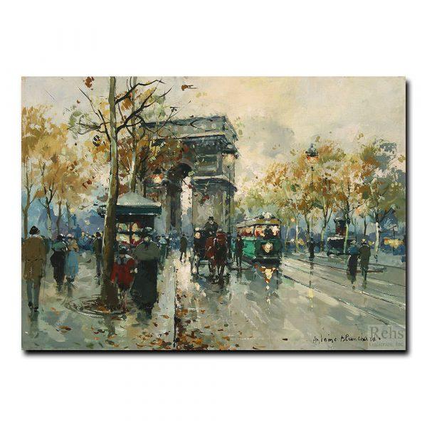 Триумфальная арка (Arc de Triomphe). Антуан Бланшар (Antoine Blanchard)