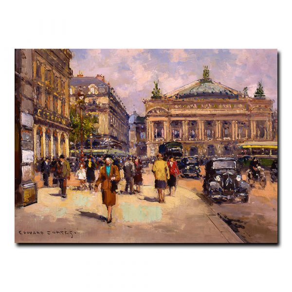 Площадь де Лопера (Place de Lopera). Эдуард Леон Кортес (Edouard Leon Cortes)