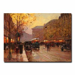 Бульвар де ла Маделейн (Boulevard de la Madeleine). Эдуард Леон Кортес (Edouard Leon Cortes)