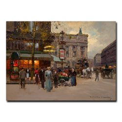 Площадь Де Лопера Приж (Place De Lopera Paris). Эдуард Леон Кортес (Edouard Leon Cortes)