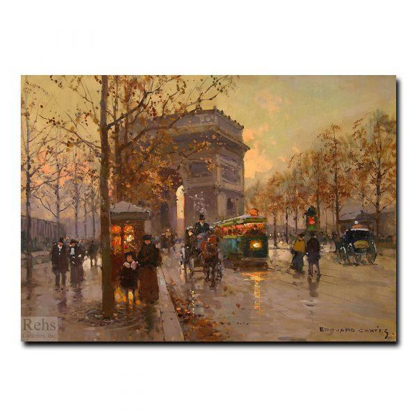 Триумфальная арка. Эдуард Леон Кортес (Edouard Leon Cortes)