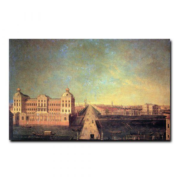 Аничков дворец, усадьба И. И. Шувалова