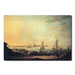 Вид на Петропавловскую крепость. Майр Иоганн-Георг