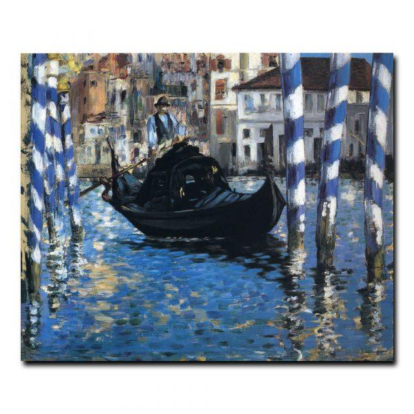 Большой канал в Венеции (Голубая Венеция) Эдуард Мане