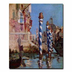 Большой канал в Венеции Эдуард Мане