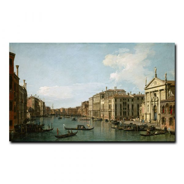 Большой канал в Венеции, вид с юго-востока от Сан-Стае Каналь Джованни Антонио (Каналетто)
