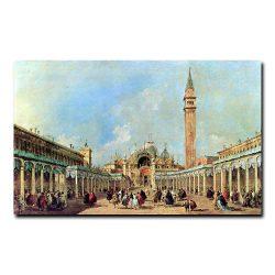 Ярмарка на площади Сан-Марко Франческо Гварди (Francesco Guardi)