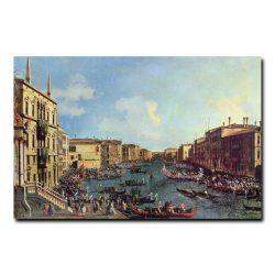 Регата, вид со стороны Палаццо Фоскари Каналь Джованни Антонио (Giovanni Antonio Canaletto)