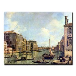 Вид с Большого канала на гавань Сан Марко Каналь Джованни Антонио (Каналетто)
