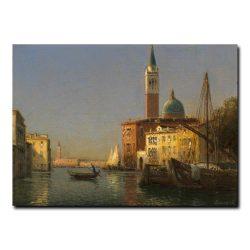 Вид на канал в Венеции Бувард Антуан (Antoine Bovard)