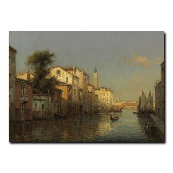 Вид на канал Венеция Бувард Антуан (Antoine Bovard)