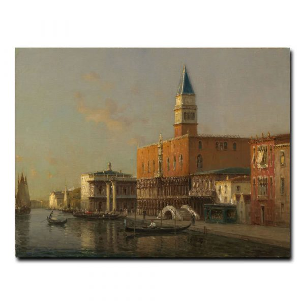 Гранд-канал и Дворец Дожей Бувард Антуан (Antoine Bovard)