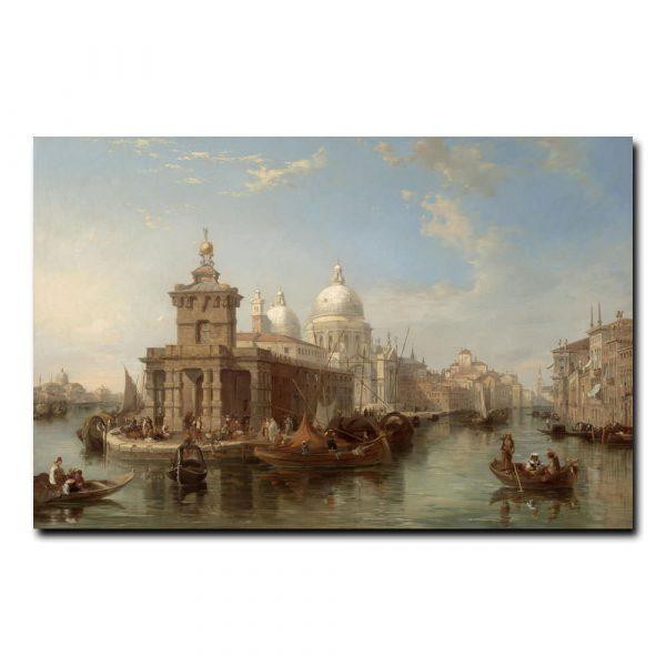 Церковь Салюте Венеции Притчетт Эдвард (Edward Pritchett)