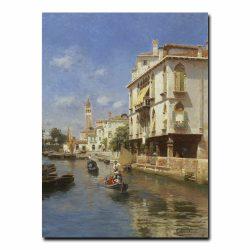 Канал в Венеции Санторо Рубенс (Rubens Santoro)