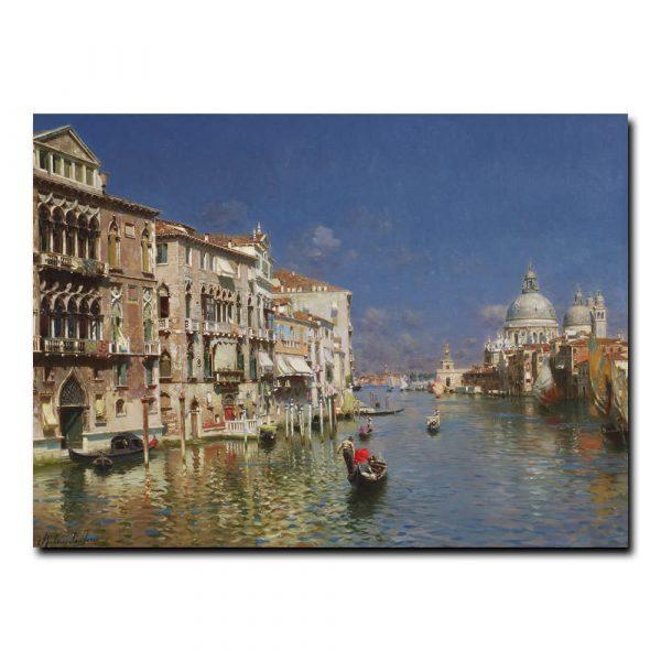 Гранд-канал Венеция Санторо Рубенс (Rubens Santoro)