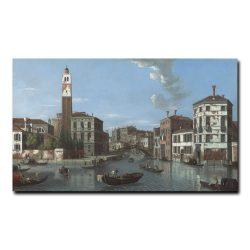 Вид на Большой канал, Венеция, Сан с Джеремии и входом в Канареджио Джеймс Уильям (William James)