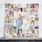 Печать фотографии из Инстаграм на холсте