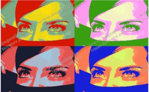 Портрет в стиле поп-арт на заказ